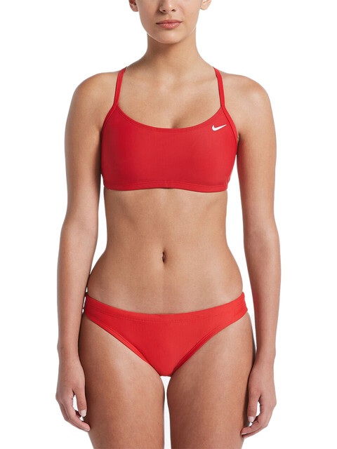 Nike Swim Solid Bañadores Mujer, university red